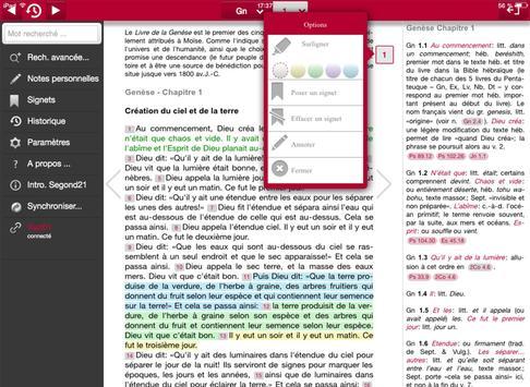 Bible d'étude Segond 21 apk screenshot