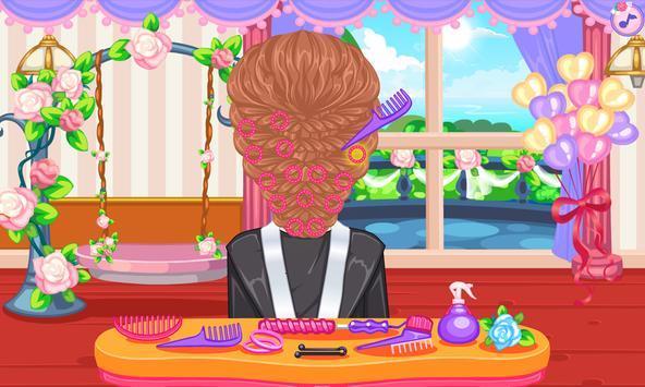 Wedding hairstyles game screenshot 3