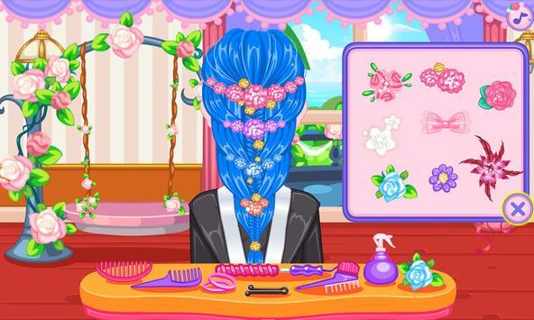 Wedding hairstyles game screenshot 13