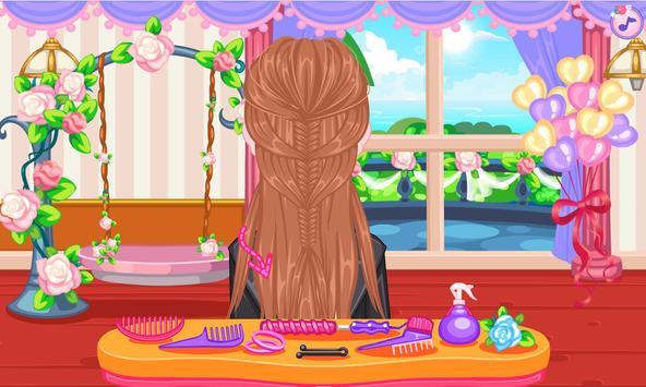Wedding hairstyles game screenshot 2