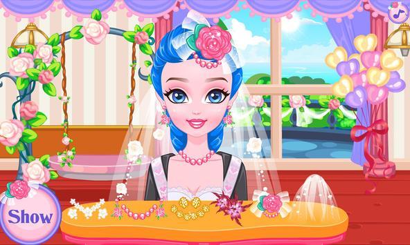Wedding hairstyles game screenshot 6