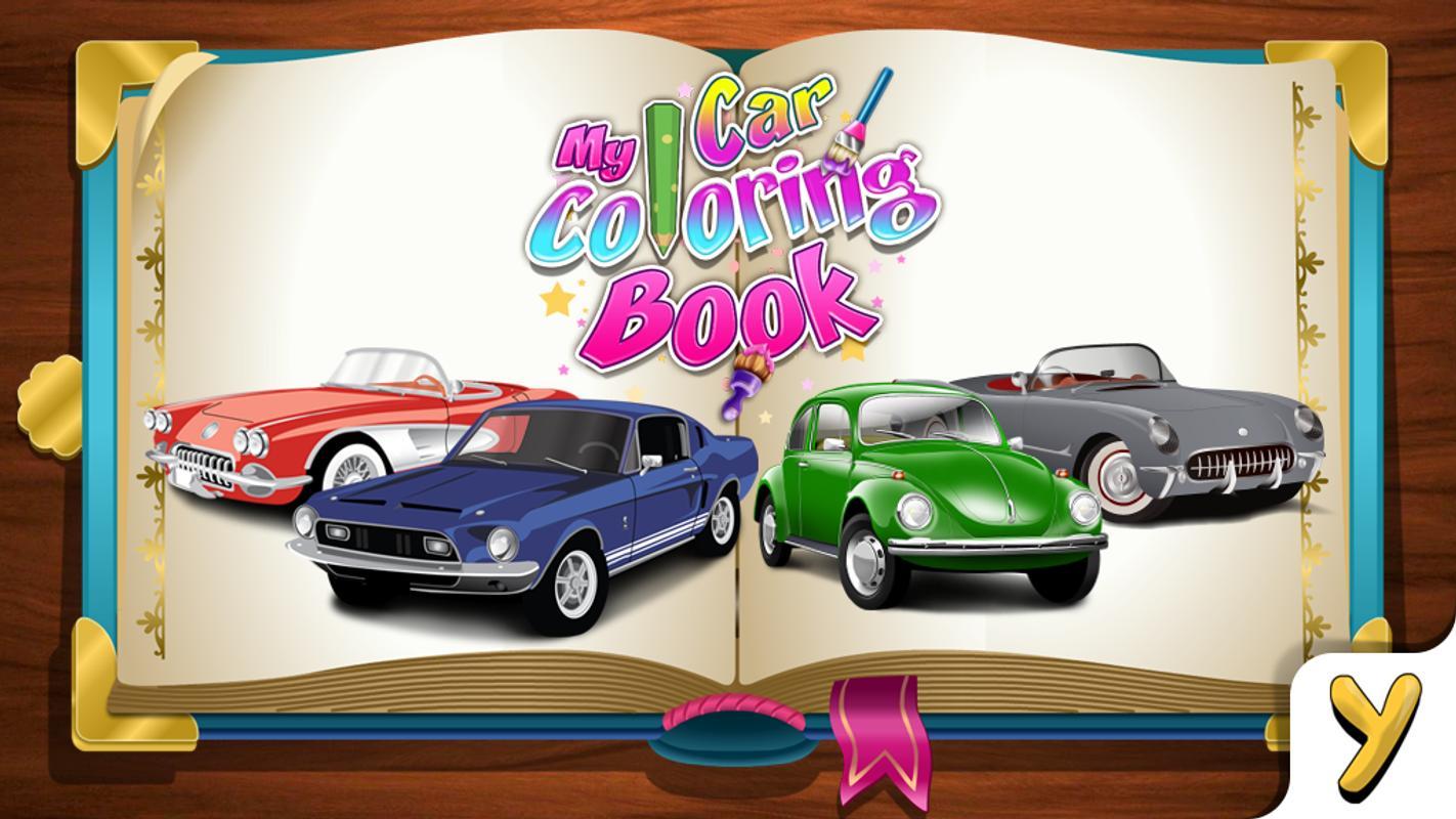 My Car Coloring Book Apk Screenshot