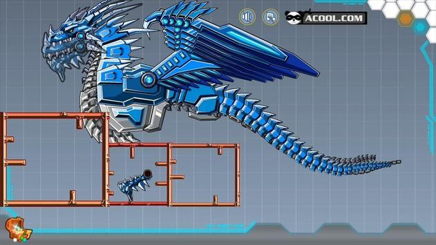 Toy Robot War:Robot Ice Dragon poster