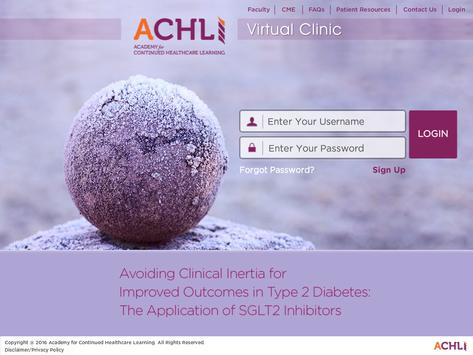 T2DM Virtual Clinic poster