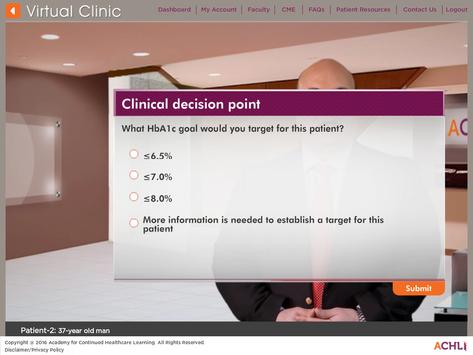 T2DM Virtual Clinic screenshot 11