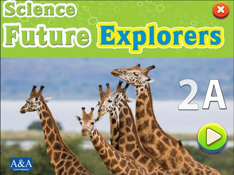 Science Future Explorers 2A poster