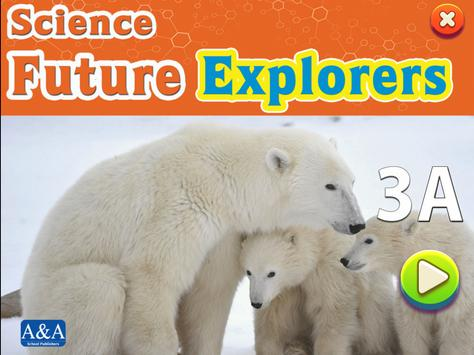 Science Future Explorers 3A poster