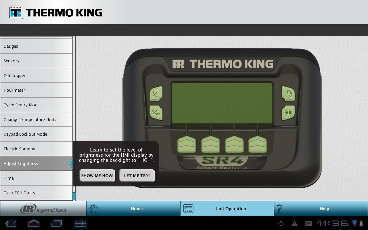 Thermo King SR-4 Simulator for Android - APK Download