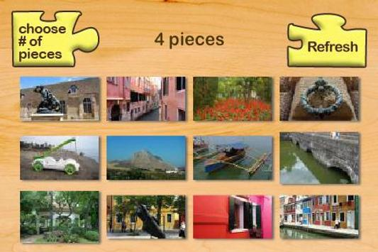 Puzzle Fotos poster