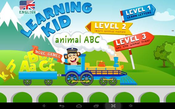 Learning Kid - Animal ABC apk screenshot