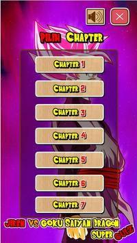 Jiren Vs Goku Saiyan God Dragon Super Quiz screenshot 1