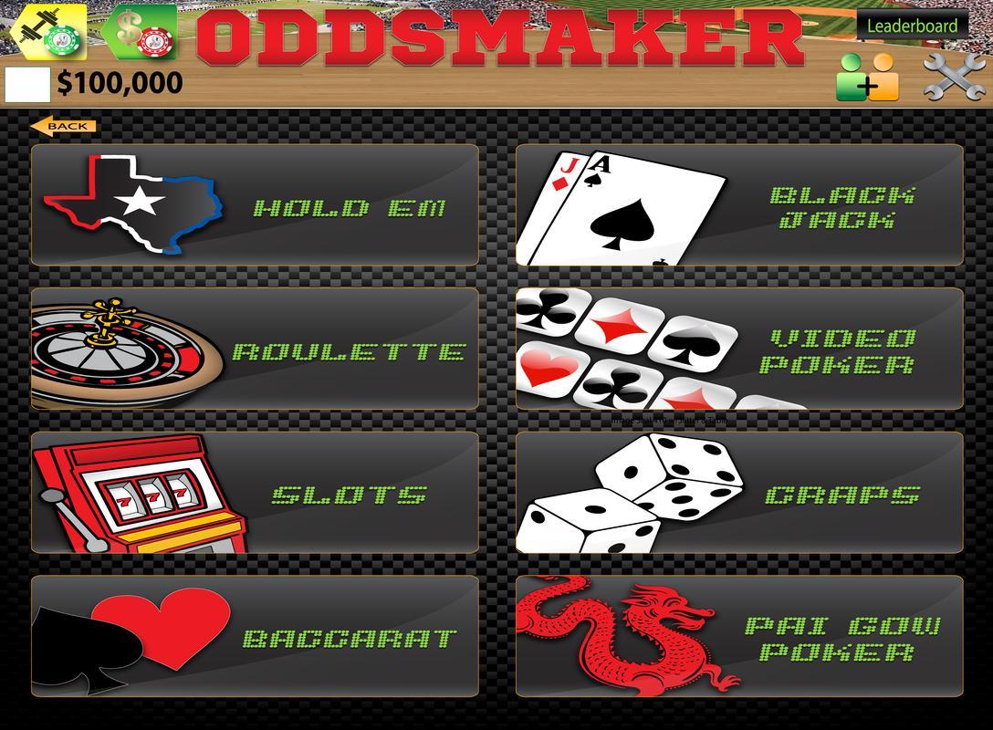 oddsmaker casino