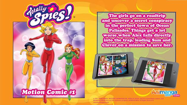 Totally Spies! poster
