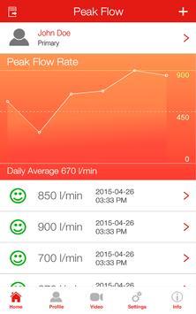 Peak Flow Log SSA apk screenshot
