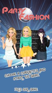 Dress Up Games Party Fashion poster