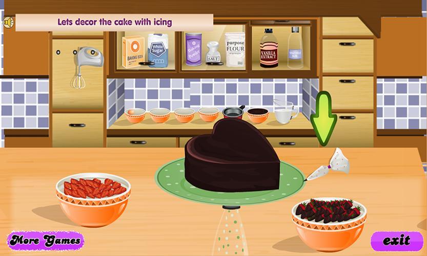 Cake Making Games Apk