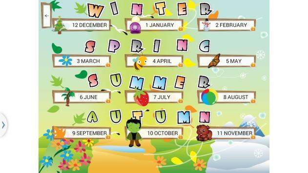 Learn Seasons And Months screenshot 1