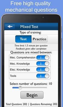 Mechanical Test Trainer apk screenshot