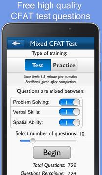 CFAT Test Trainer screenshot 10