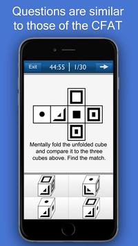 CFAT Test Trainer screenshot 1