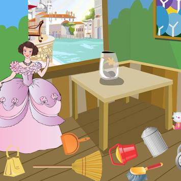 Princess Games - Clean Up apk screenshot