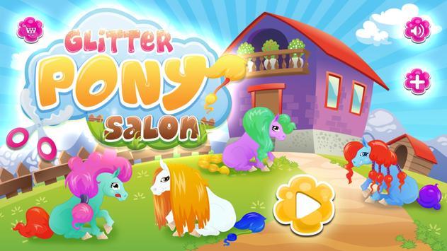 Glitter Pony Salon poster