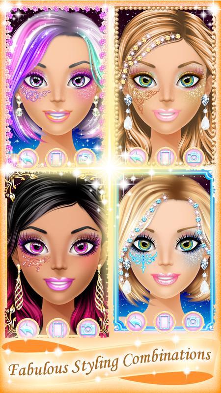 Makeup salon games