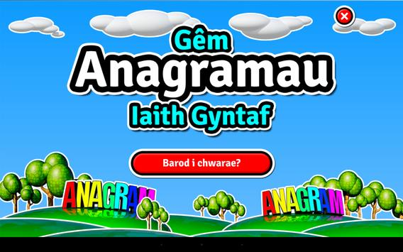 Anagramau - Iaith Gyntaf apk screenshot