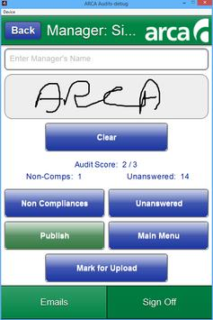 ARCA Audits apk screenshot