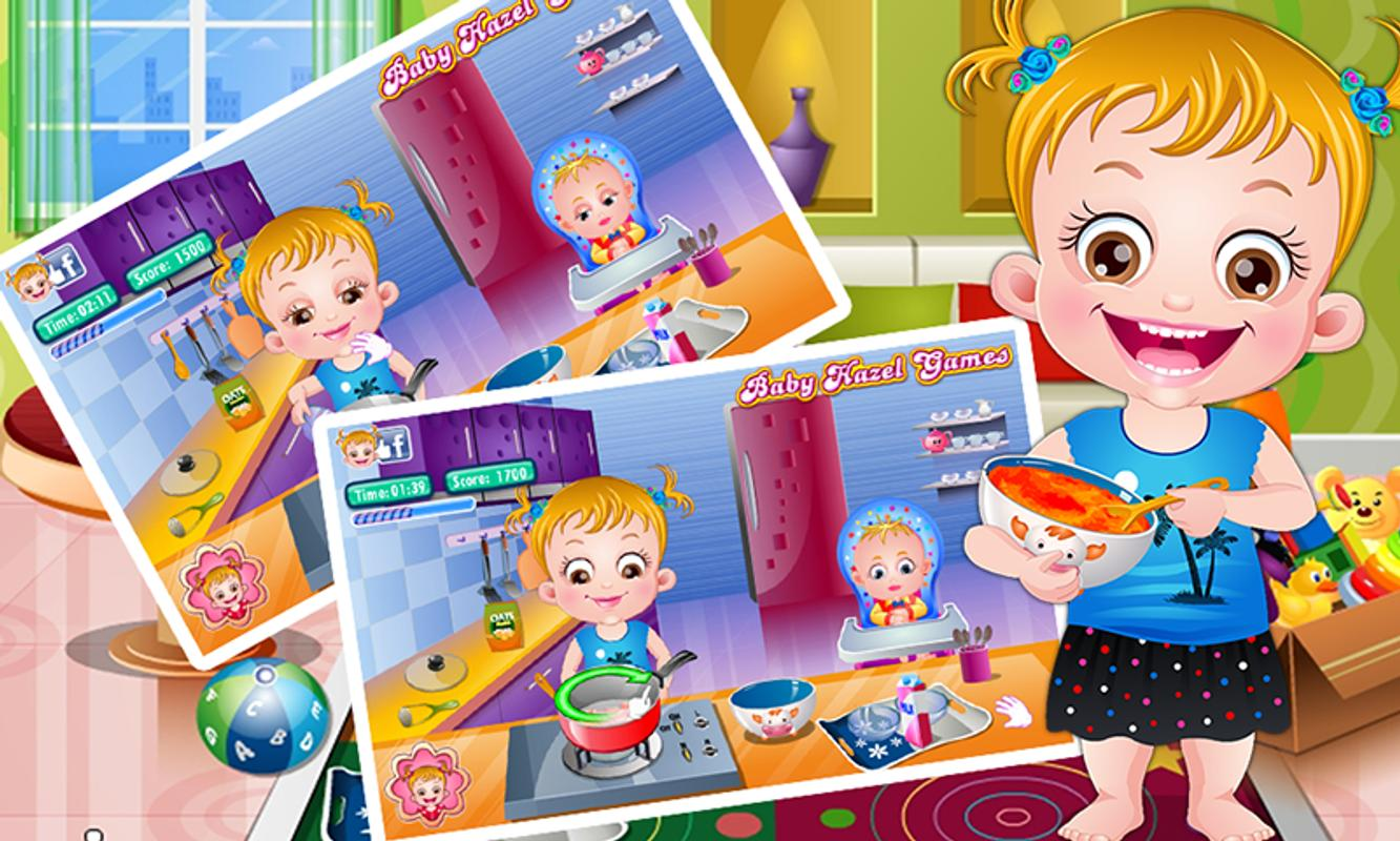 Baby Hazel Baby Care Games For Android Apk Download