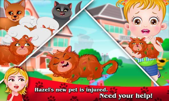 Baby Hazel Fluffy Cat screenshot 1