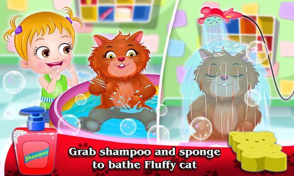 Baby Hazel Fluffy Cat screenshot 3