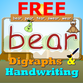 Learn Digraphs Preschool Free icon