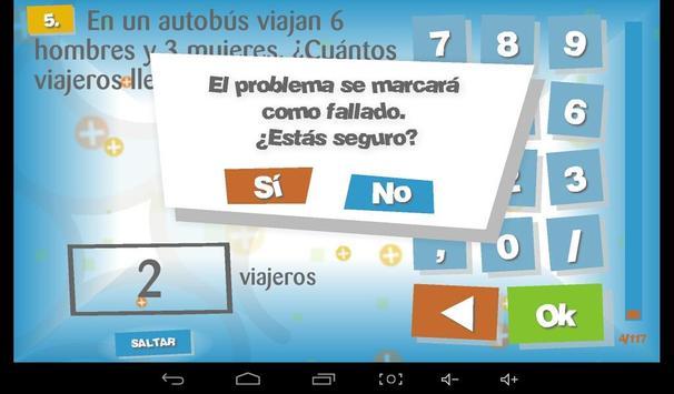 Problemas Matemáticas 4 (Lite) screenshot 6