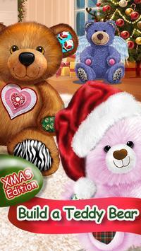 Build A Teddy Bear Send A Hug poster