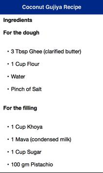 Coconut Gujiya Holi Recipe poster