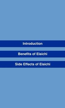 Benefits of Elaichi (Cardamom) apk screenshot