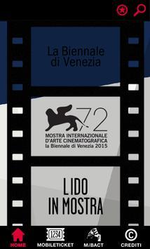 BIENNALE CINEMA poster