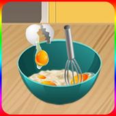 cooking games cake making game icon
