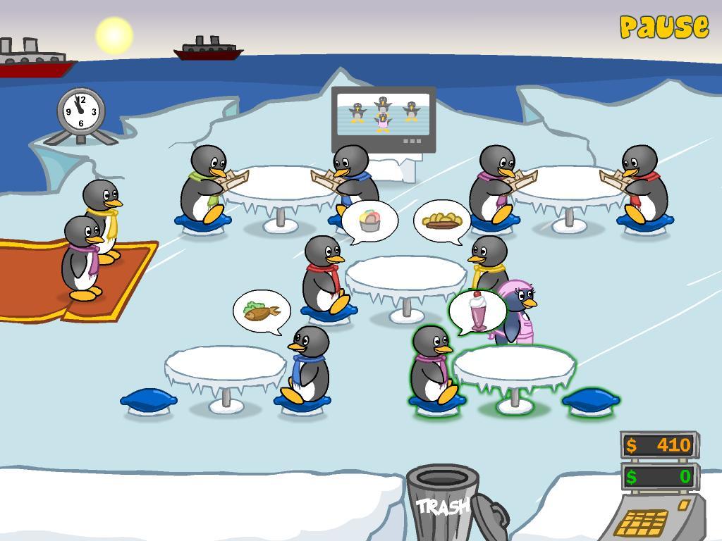 Penguin Dinner 1