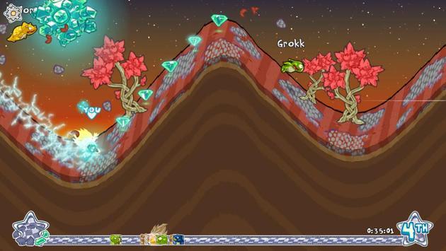 Dillo Hills 2: 'Roid Racing screenshot 3