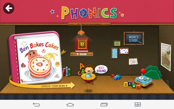 [Phonics] Ben Bakes Cakes screenshot 7