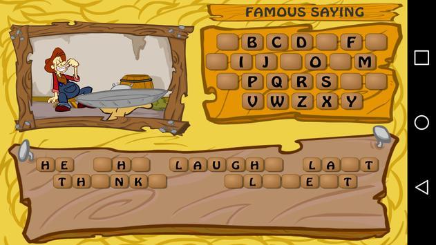 Hillbilly Hangman Free apk screenshot