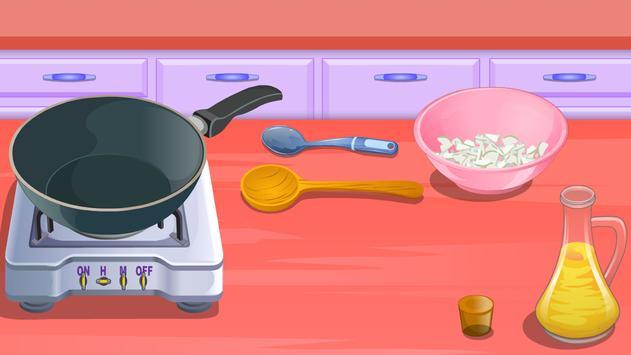 girls games cooking potatoes poster