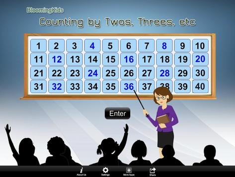 Counting by 2s, 3s, etc Lite apk screenshot