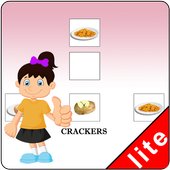 Matching Foods Using Pictures Lite Version icon
