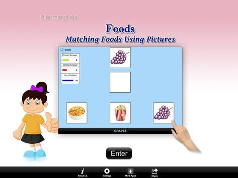 Matching Foods Using Pictures Lite Version screenshot 14