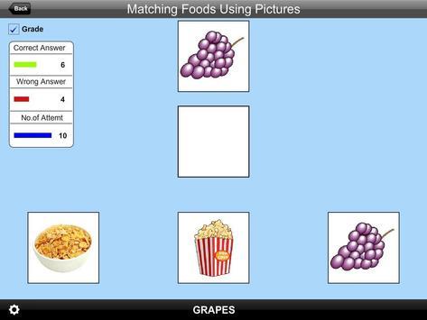 Matching Foods Using Pictures Lite Version screenshot 11