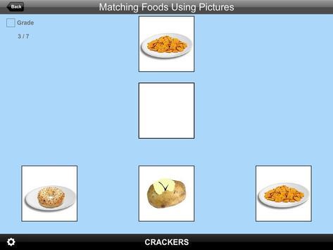 Matching Foods Using Pictures Lite Version screenshot 2