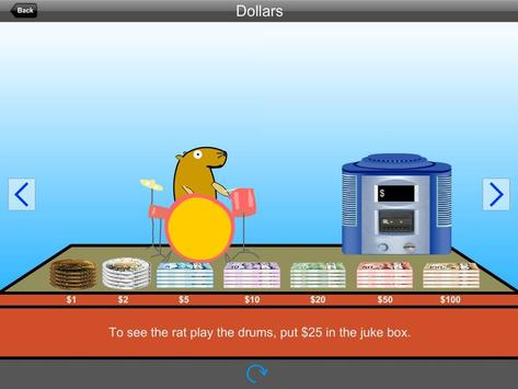 Paying with Coins and Bills (CAD) Lite Version screenshot 2